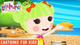 Lalaloopsy - Super Woman   Lalaloopsy Webisode Compilation   HD Full Episodes   Cartoons for Kids