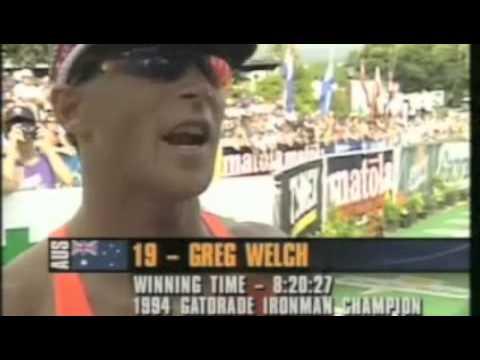 Greg Welch wins the 1994 Ironman Hawaii