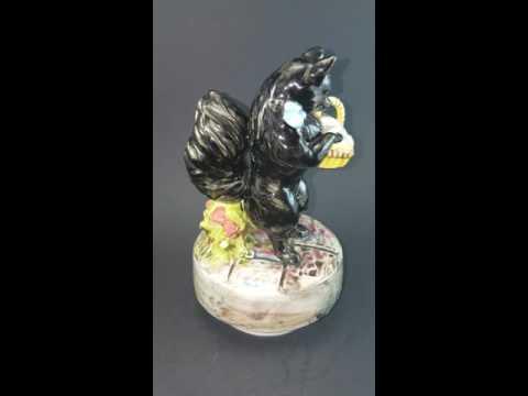 Beatrix Potter Duchess Music Box Figurine for Ebay Listing