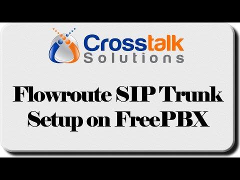 Flowroute SIP Trunk Setup on FreePBX