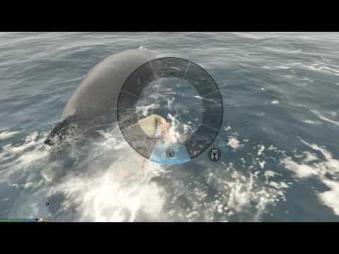 Khám phá thế giới GTA 5 #1 - Cá voi khổng lồ trong GTA 5