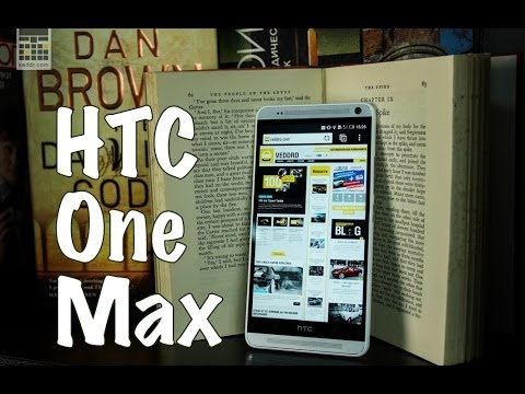 HTC One Max - обзор смартфона от Keddr.com