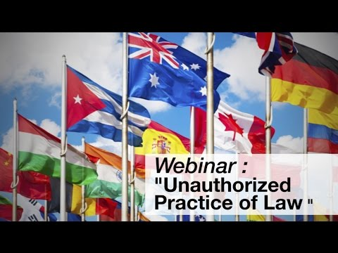 Serving Immigration Populations: Unauthorized Practice of Law (UPL)