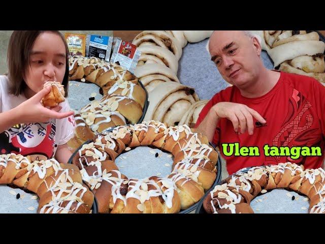 Resep Roti Spice Bread Ring.Ulen Tangan porsi Sedikit.