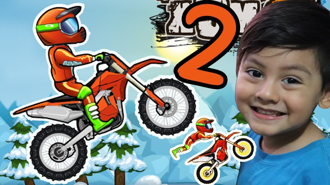 Moto X3m Bike Racing Game Juego De Motos Juegos Infantiles Para Niños Youtube