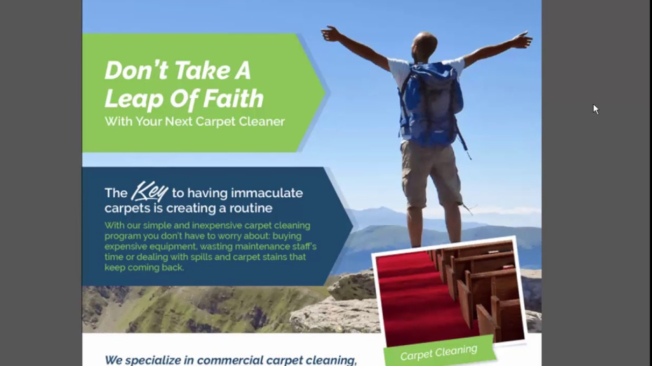 commercial cleaning brochures targeting churches commercial cleaning brochures targeting churches