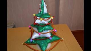 Новогодние елочки своими руками из подручного материала Делаем украшения на Новый Год