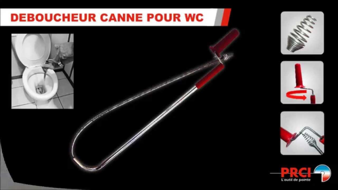 Deboucheur Canne Pour Wc Prci Ref 355861 Youtube