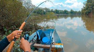 Câu cá ở Rừng Mã Đà, trong này còn rất nhiều cá!