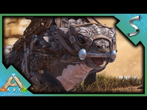 CHAINSAW! OIL REFINERY! HIGH LEVEL THORNY DRAGON TAME! | Ark: Scorched Earth [Gameplay E3]