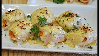 Huevos Rellenos Gratinados-Sorprendentes y muy fáciles