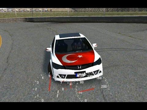 LFS Honda Civic Vtec Gezinti