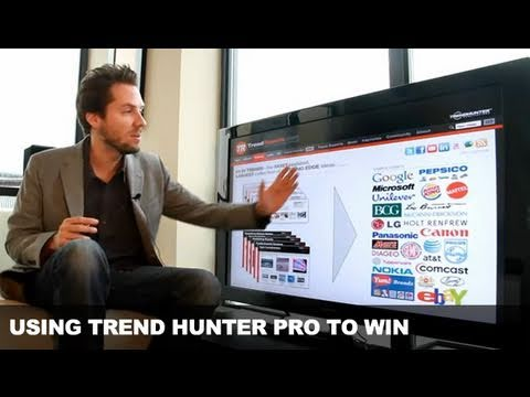 Trend Hunter PRO / Trend Reports .com Advantages