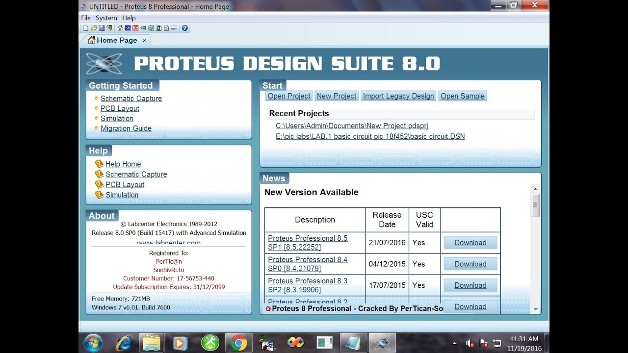 How To Install And Crack Proteus 8 Youtube Circuit Design Suite Screenshot 15