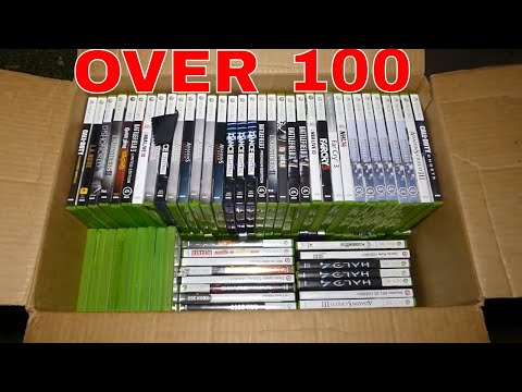 OVER 100 VIDEO GAMES FOUND!! Dumpster Dive Night #355