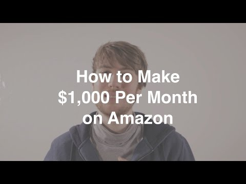 My FORMULA to make $1,000 per month selling on Amazon