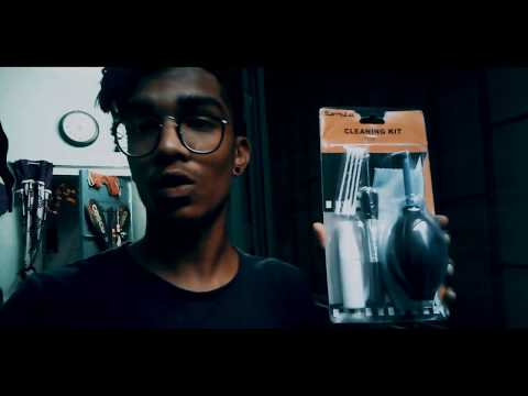 HOW TO CLEAN DSLR WITH   CLEANING KIT   SUNNY RAJ VLOGS