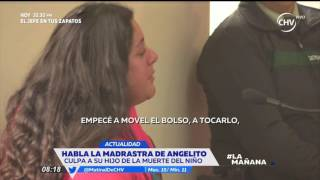 Vanessa Trigari culpó a su hijo de muerte de Ángel Márquez - LA MAÑANA