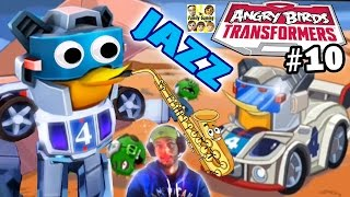 JAZZ Pops Pigs! NEW Angry Birds Transformers Update! (SAVING BUBBLES) Part 10