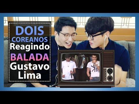 Os coreanos reagindo Balada(Gusttavo Lima com Neymar)[Parte2/2] | Dois Coreanos