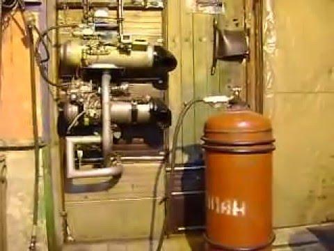 Автономный отопитель на газе
