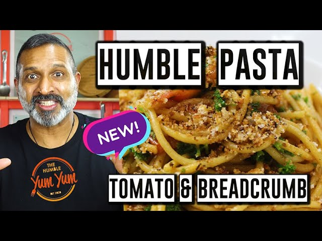 HUMBLE PASTA WITH TOMATO AND BREADCRUMBS! Feed 4 for under $20! ONE POT - ONE PAN