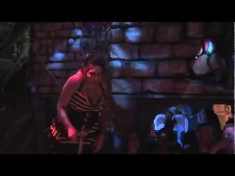 Body Piercing Unlimited - Girl Back Suspension - Singing Karaoke - Halloween 2012