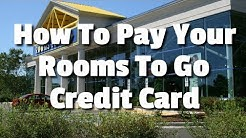 How To Pay Your Rooms To Go Credit Card