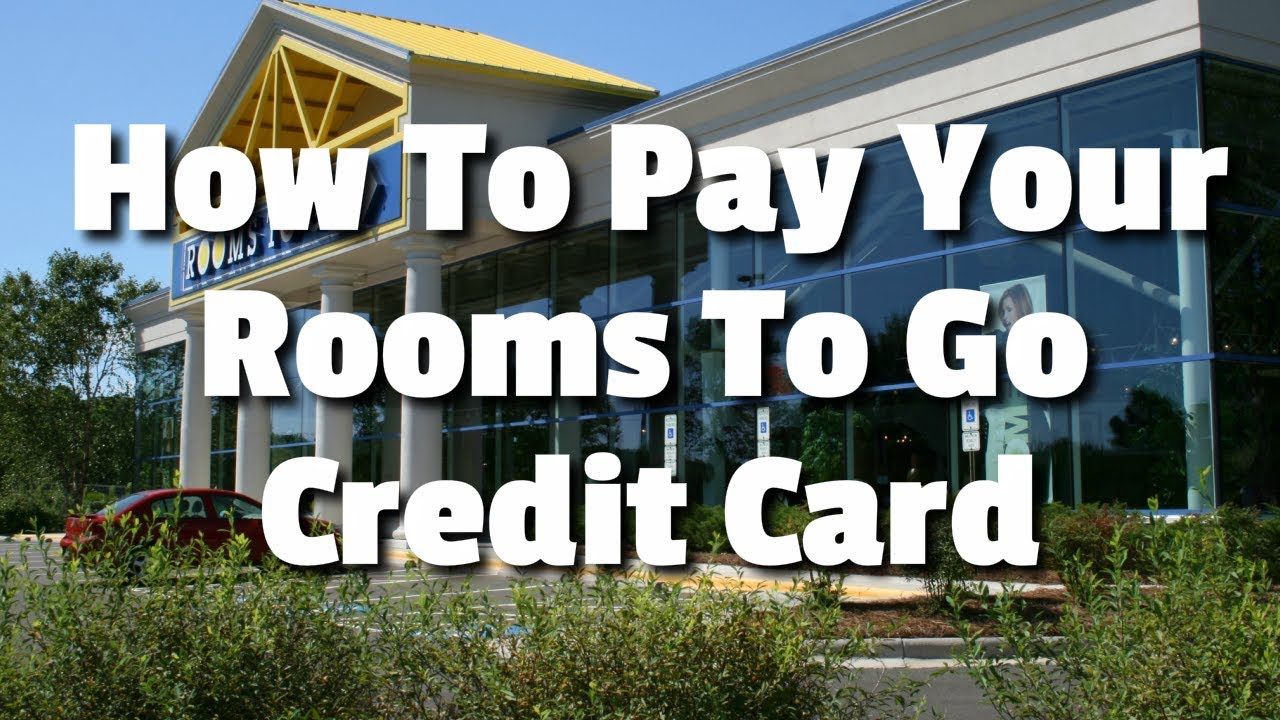 How To Pay Your Rooms To Go Credit Card - YouTube