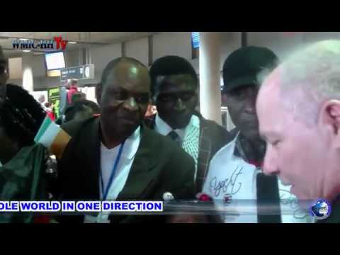 THE ARRIVAL OF SENIOR PROPHET JEREMIAH OMOTO FUFEYIN AT THE AIRPORT HAMBURG GERMANY - 10-08-17