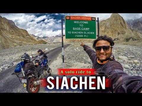 A solo ride to Siachen base camp | Ladakh | Siachen | Khardungla | Nubra valley |