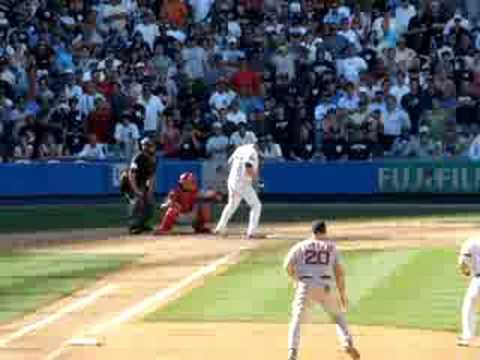 Jason Giambi beats Boston - 8/28/08