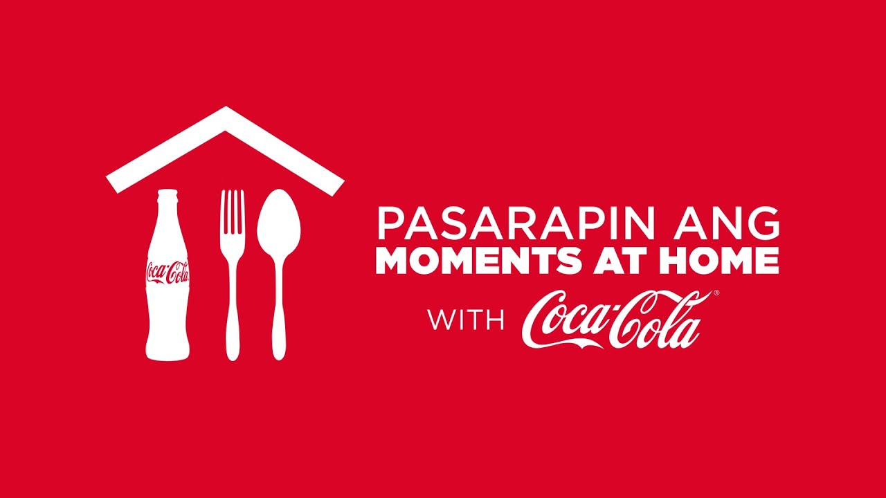 Pasarapin ang. moments at home with COCA-COLA