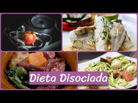 comidas dieta disociada 10 dias