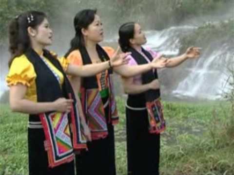 "Tai Dam Song ""Cau Mua"" (สอม้ว), asking for rain song."