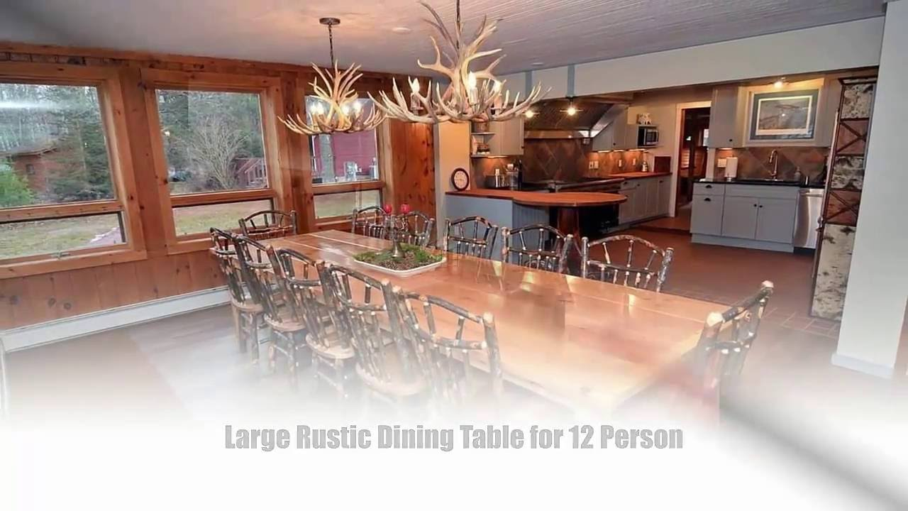 9 best large dining table ideas for 12 person tablespedia