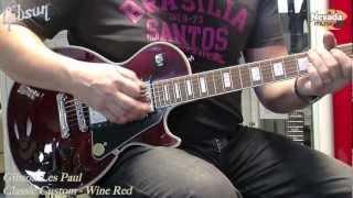 Gibson Les Paul Classic Custom Wine Red Demo - Richie Stopforth @ Nevada Music Uk
