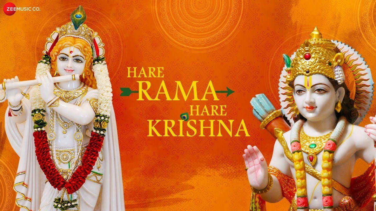 Hare Rama Hare Krishna | कृष्ण भजन | Zee Music Devotional | Krishna Bhajan With Lyrics