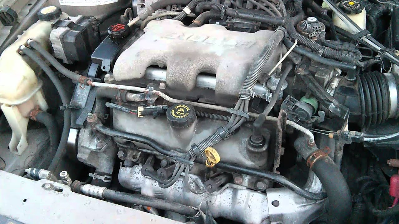 Cold Start lifter knock 2000 Malibu 3.1L V6 - YouTube