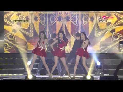 [150122 ] TTS - Holler @Seoul Music Awards