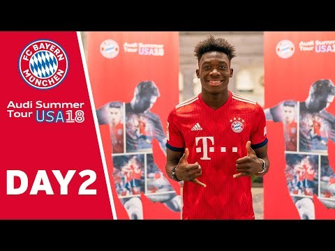 Alphonso Davies signs contract until 2023 with FC Bayern | USA - Day 2