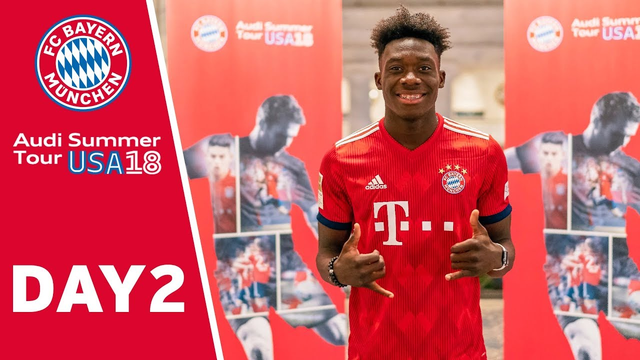 alphonso davies signs contract until 2023 with fc bayern youtube. Black Bedroom Furniture Sets. Home Design Ideas