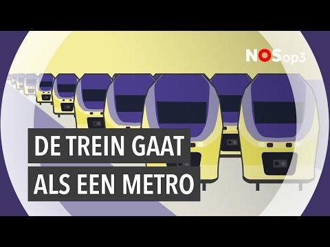De NS wil elke 10 minuten een trein | NOS op 3