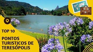 10 pontos turisticos mais visitados de Teresópolis