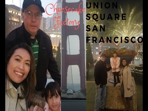 Union Square San Francisco California , Macy's Cheesecake Factory