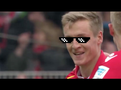Felix Kroos ● great free kick ● Union Berlin ● 2017