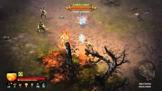 Diablo 3 on Xbox 360 Dev Demo - E3 2013 (direct feed)