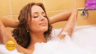 Как  превратить  принятие ванны в омолаживающую процедуру (24.12.15)(Принятие ванны может быть не только приятно, но и полезно. Все подробности - в программе