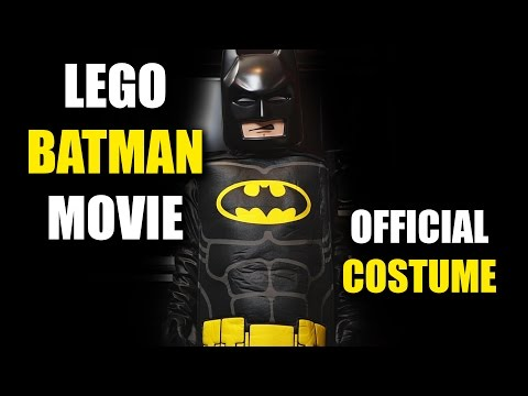 Lego Batman Movie Costume // Unboxing and Review  sc 1 st  YouTube & Lego Batman Movie Costume // Unboxing and Review - YouTube