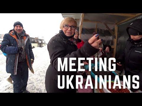 Meeting Ukrainians On Streets Of Kyiv 🇺🇦